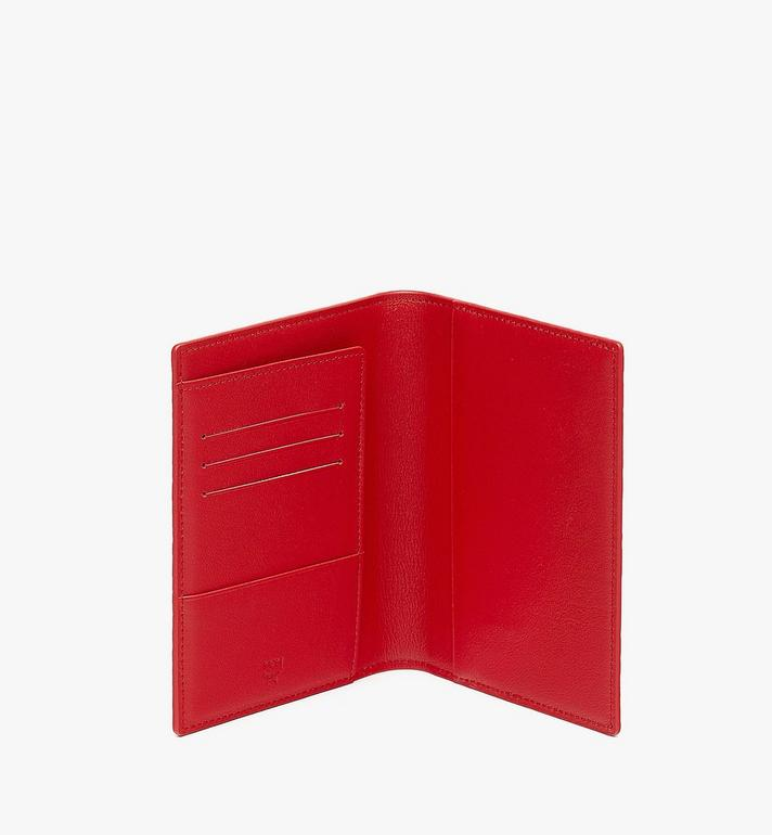 MCM Chinese New Year Passport Holder Red MXVASXL01RJ001 Alternate View 3