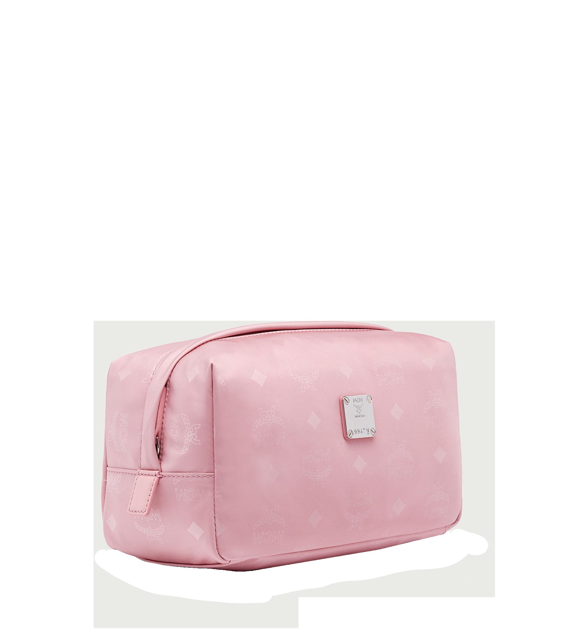 Large Dieter Reisetasche aus Nylon mit Monogramm Pink Blush