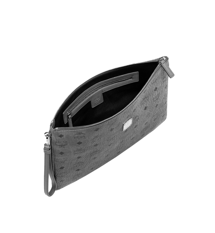 MCM Wristlet Zip Pouch in Visetos Original MXZ8AVI27EP001 AlternateView5