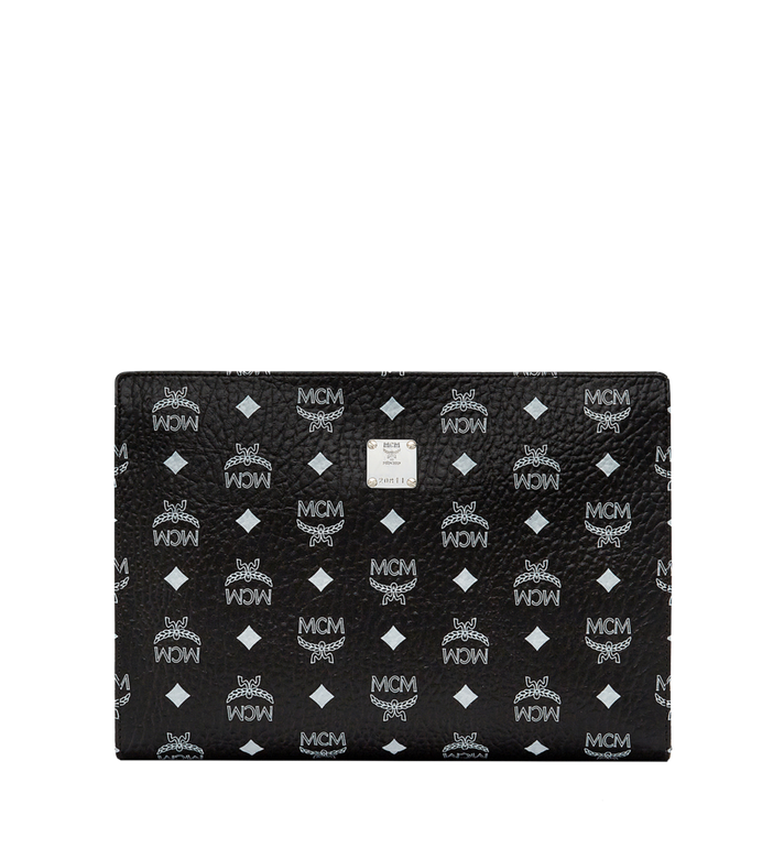 MCM Zip Pouch in Visetos Original AlternateView