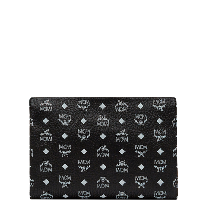MCM Zip Pouch in Visetos Original AlternateView4