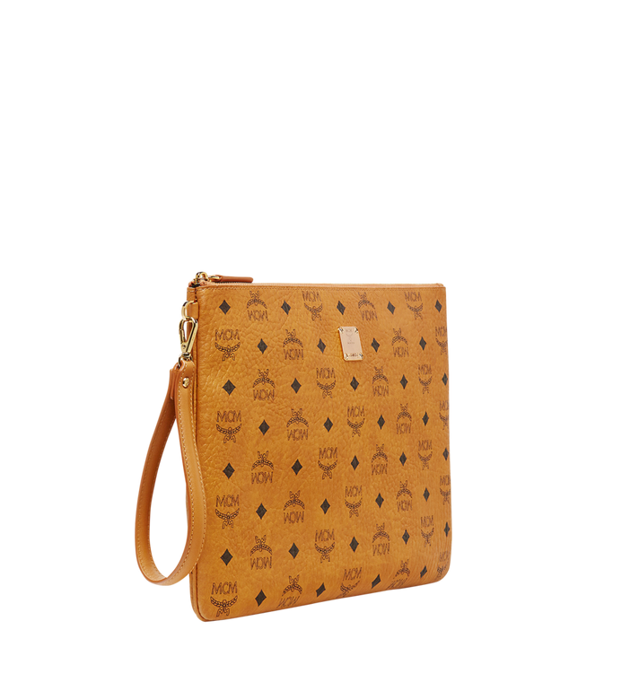 MCM Stark Tasche mit Handgelenksband in Visetos Alternate View 2