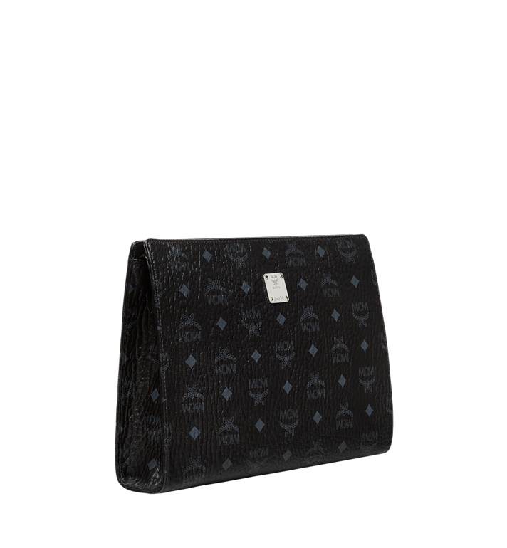 MCM Pochette en Visetos Original Black MXZ8SVI70BK001 Alternate View 2