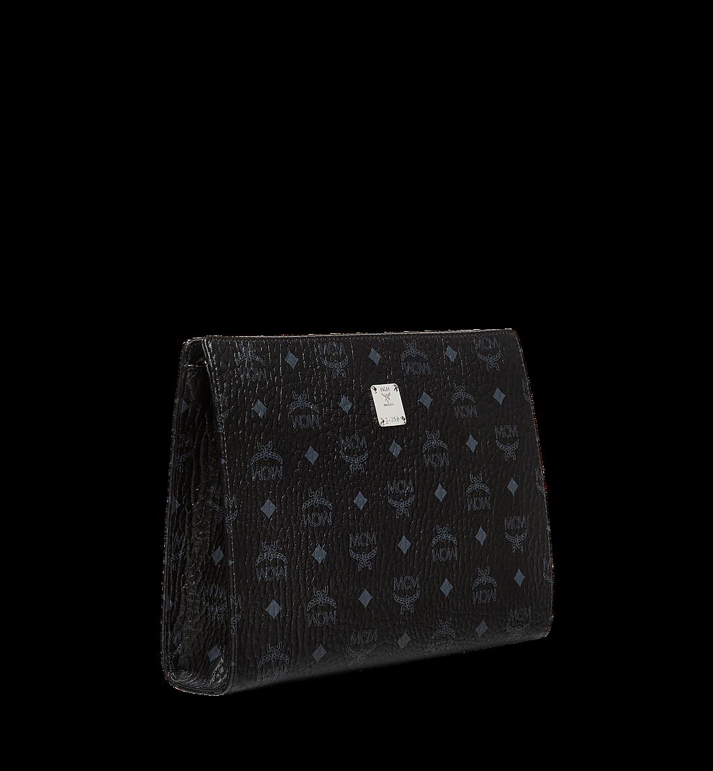 MCM Stehende Pouch in Visetos Original Black MXZ8SVI70BK001 Noch mehr sehen 1