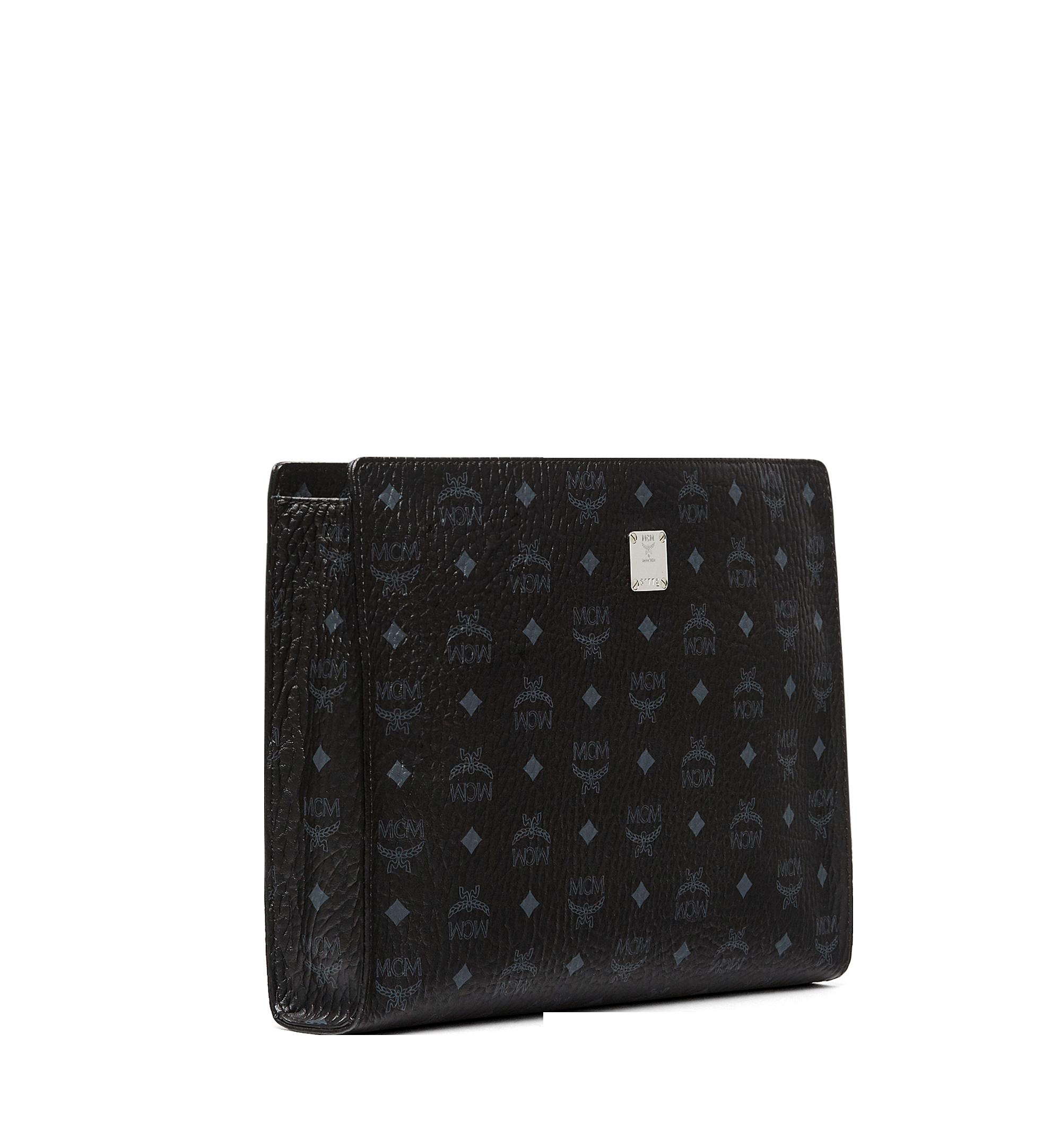 MCM Tasche mit Reissverschluss in Visetos Original Black MXZ8SVI71BK001 Noch mehr sehen 1