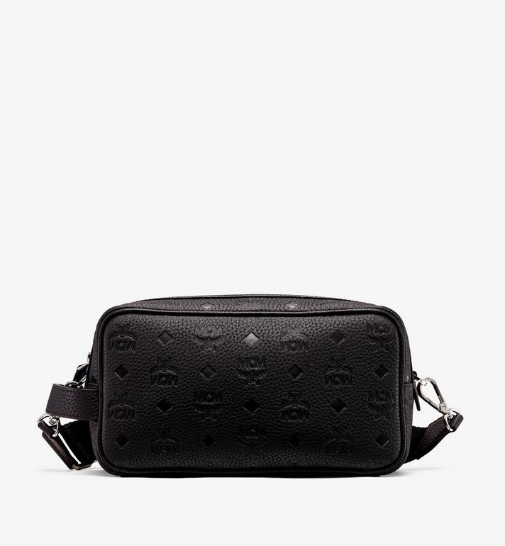 MCM 티비테트 레더 워시백 Black MXZ9ABT28BK001 Alternate View 1