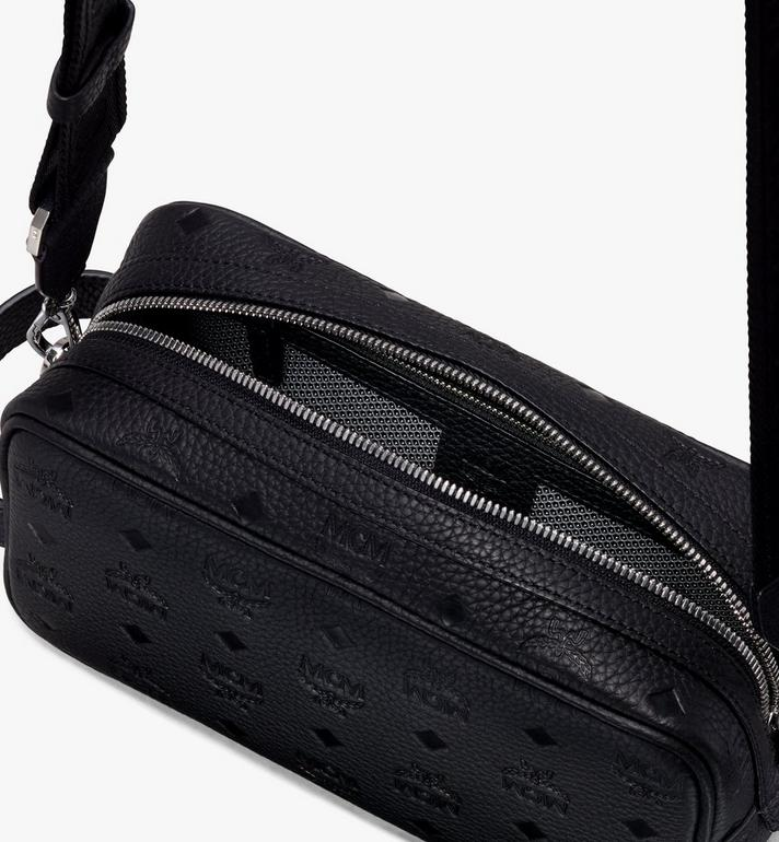 MCM 티비테트 레더 워시백 Black MXZ9ABT28BK001 Alternate View 4