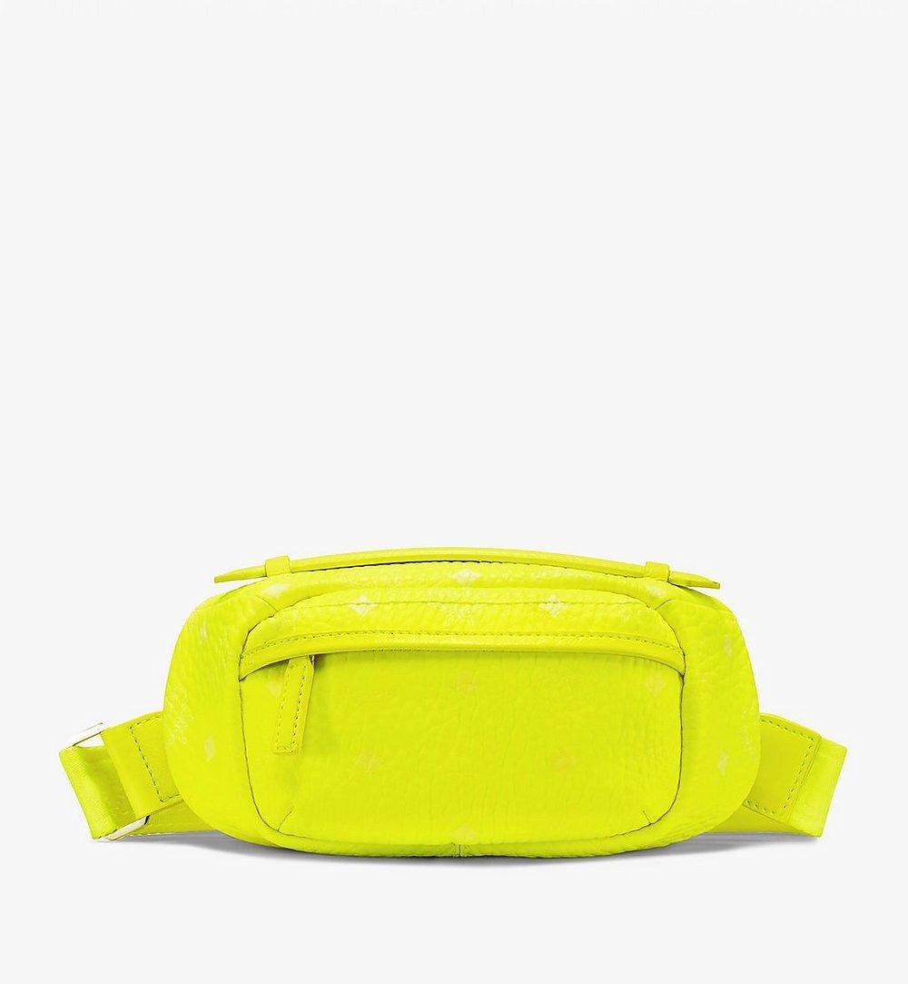 MCM Crossbody Bag in Visetos Yellow MXZ9AVI34YN001 Alternate View 1