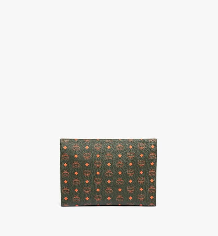 MCM Zip Pouch in Visetos Alternate View 4
