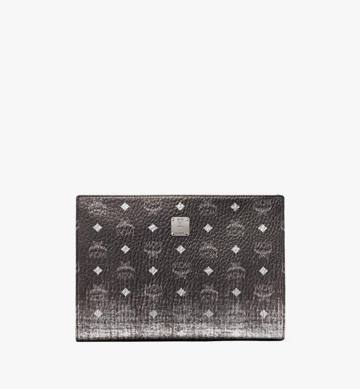 MCM Zip Pouch in Gradation Visetos Alternate View 1
