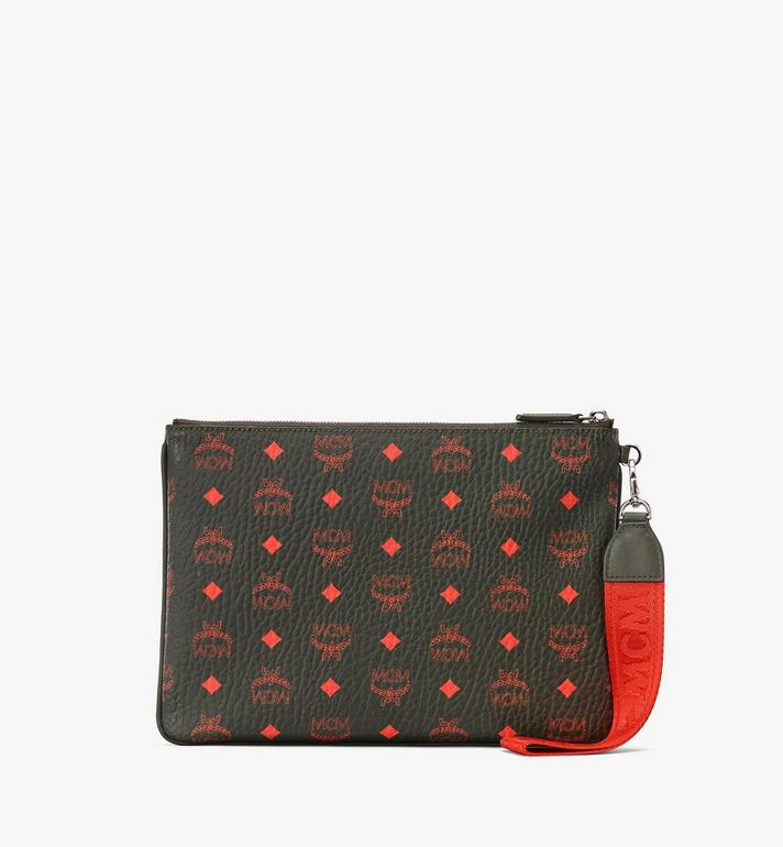 MCM Zip Pouch in Visetos  MXZ9AVI44G8001 Alternate View 2