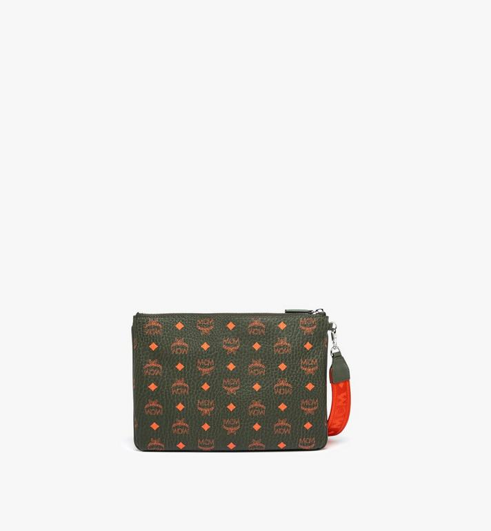 MCM Zip Pouch in Visetos  MXZ9AVI44G8001 Alternate View 4