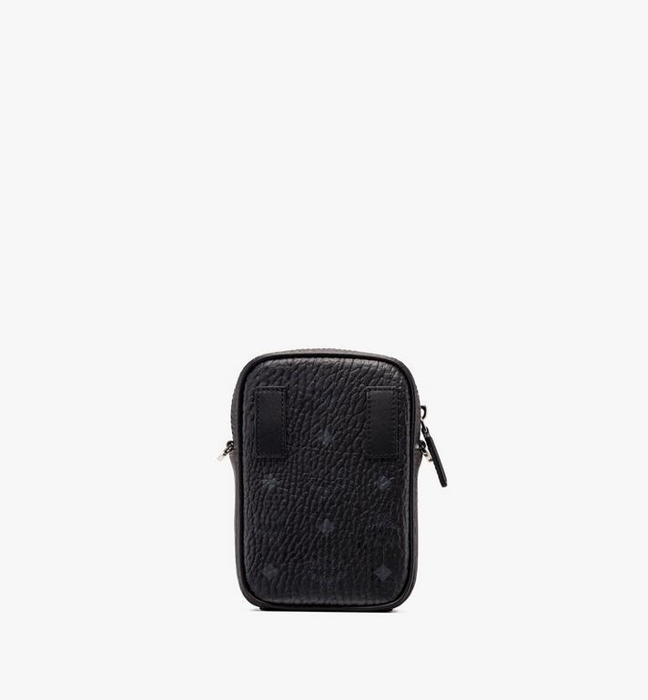 MCM Crossbody Bag in Visetos Black MXZ9AVI52BK001 Alternate View 3