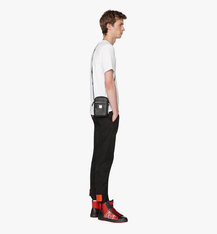 MCM Crossbody Bag in Visetos Black MXZ9AVI52BK001 Alternate View 5