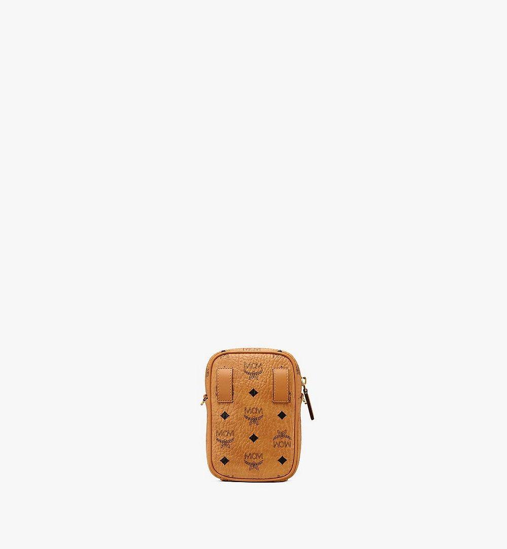 MCM Crossbody Bag in Visetos Cognac MXZ9AVI52CO001 Alternate View 2