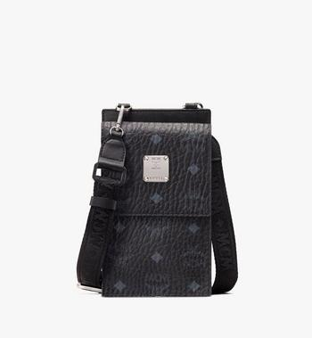 MCM Crossbody Phone Case in Visetos Alternate View
