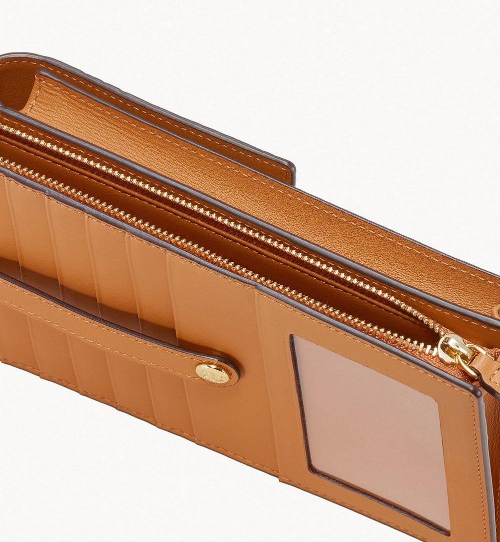 MCM Crossbody Phone Case in Visetos Cognac MXZ9AVI54CO001 Alternate View 2
