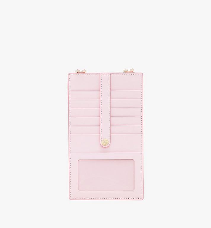 MCM Crossbody Phone Case in Visetos Pink MXZ9AVI54QH001 Alternate View 2