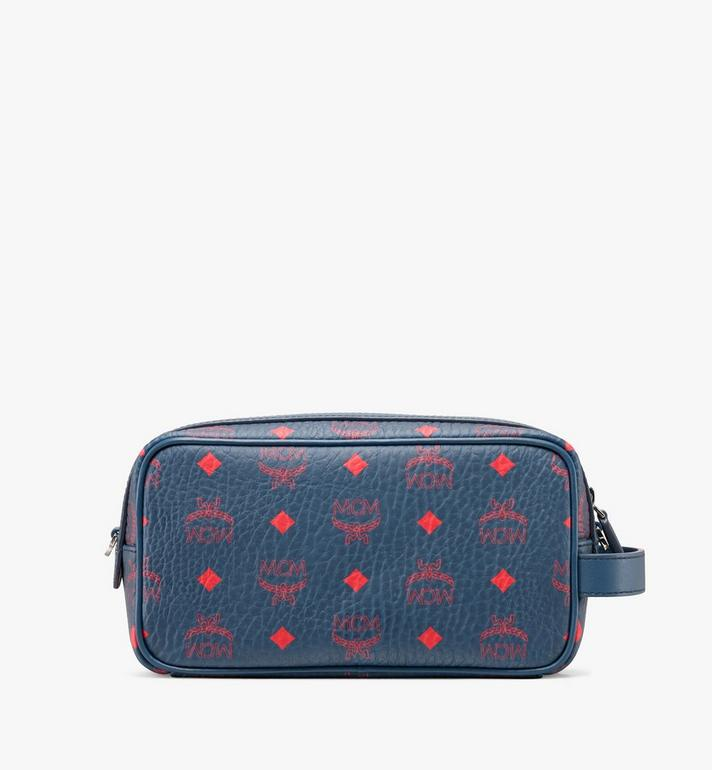 MCM Wash Bag in Visetos Alternate View 3