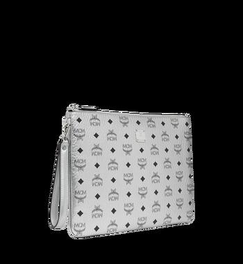 MCM Reissverschlusstasche mit Handgelenksband in Visetos Original Alternate View 2