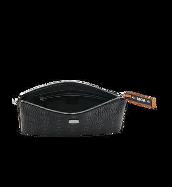 MCM Reissverschlusstasche mit Handgelenksband in Visetos Original Alternate View 4
