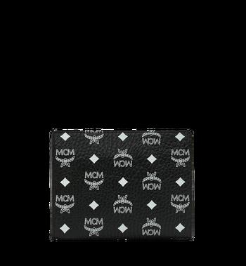 MCM 화이트로고 비세토스 지퍼 파우치 Black MXZ9SWA05BV001 Alternate View 3