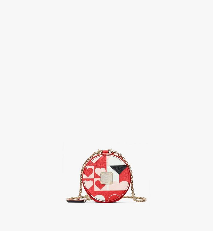 MCM Tambourine Charm in Cubic Valentine Leather Alternate View