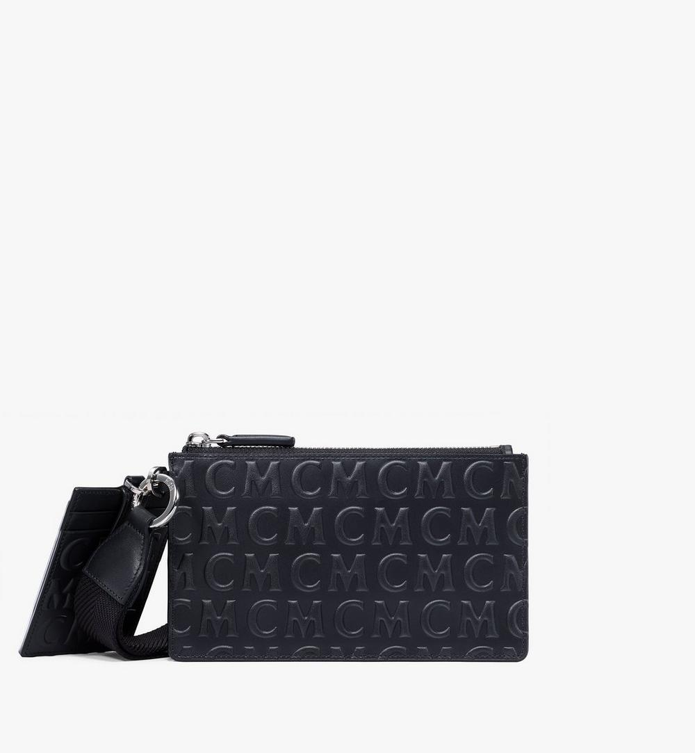 Multifunction Pouch in MCM Monogram Leather 1