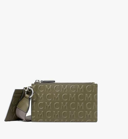 Multifunction Pouch in MCM Monogram Leather