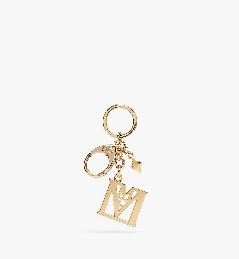 MCM MCM 컬렉션 M 버클 키링 Gold MXZAAMM02DG001 다른 각도 보기 1