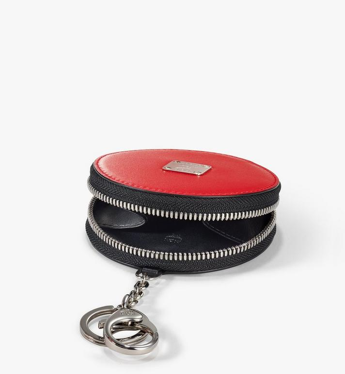 MCM Coin Pouch Charm in Polka Dot Leather Red MXZAAPD02RE001 Alternate View 2