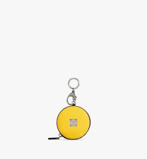Portemonnaie mit Schlüsselring aus Leder mit Polka Dot Muster
