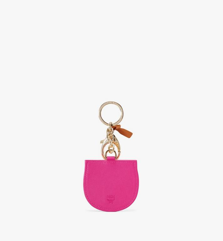 MCM Patricia 2D Charm in Visetos Pink MXZAAVI18QH001 Alternate View 2