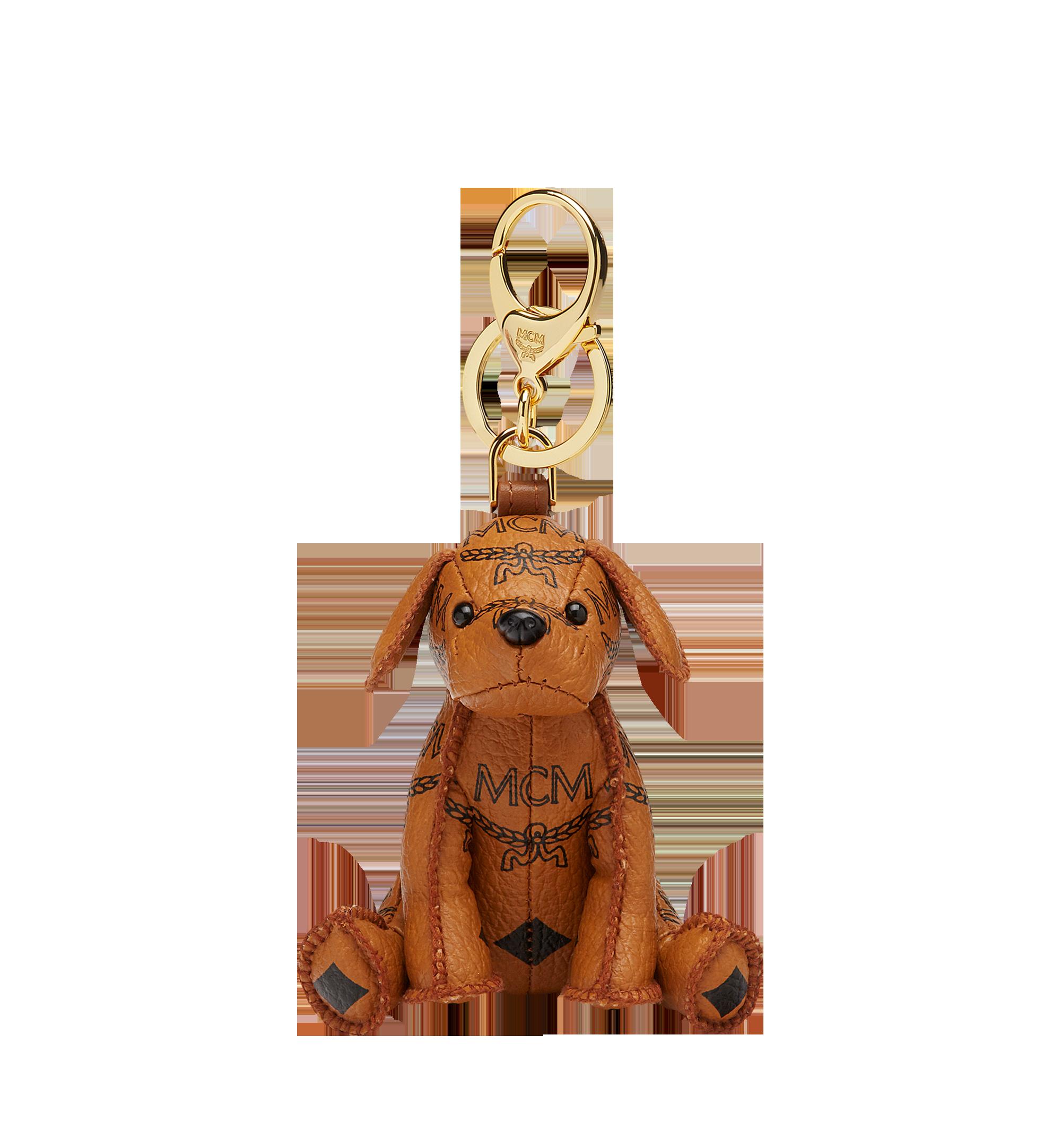 MCM MCM Zoo Dog Charm Cognac MXZAAXL02CO001 Alternate View 1