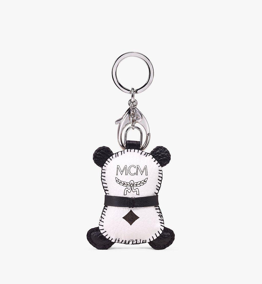 MCM MCM Zoo 2D Panda Charm in Visetos White MXZAAXL08WT001 Alternate View 1