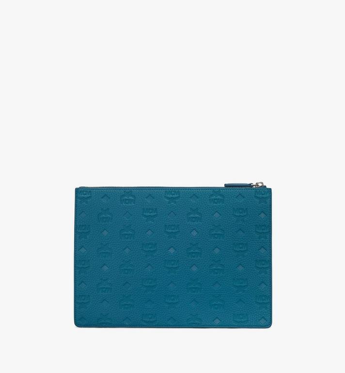 MCM Tivitat Document Holder in Monogram Leather Alternate View