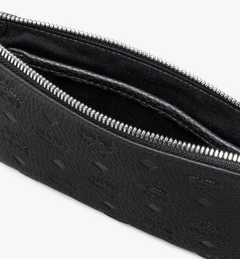 MCM Tivitat Tech-Pouch aus Leder mit Monogramm Black MXZASBT03BK001 Alternate View 3