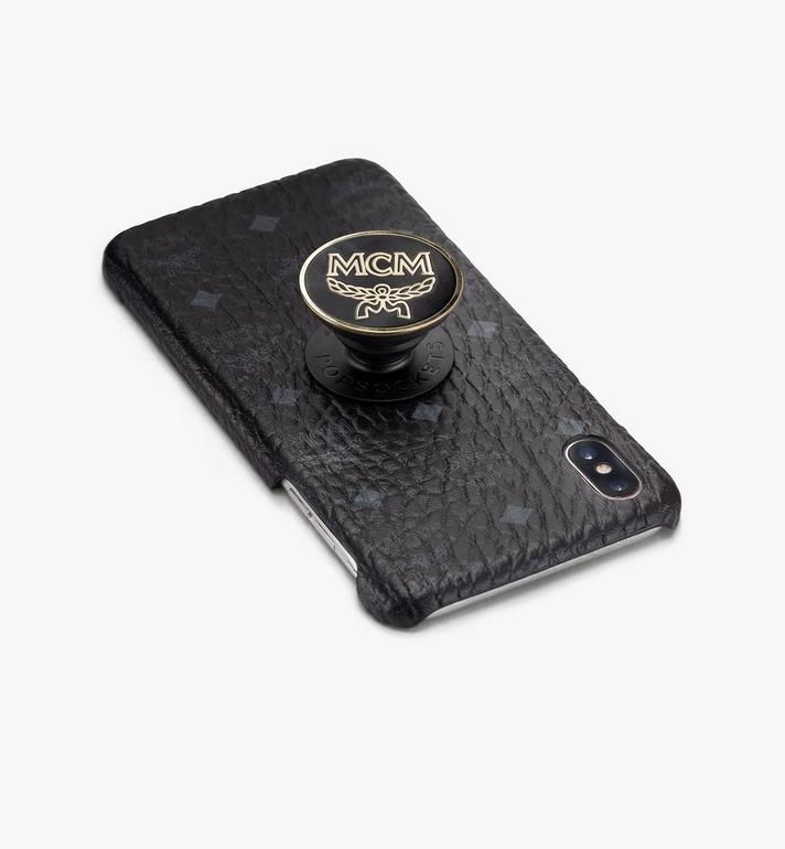 MCM PopSockets x MCM PopGrip Black MXZASMM05BK001 Alternate View 3