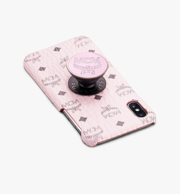 MCM PopSockets x MCM PopGrip Pink MXZASMM05QH001 Alternate View 3