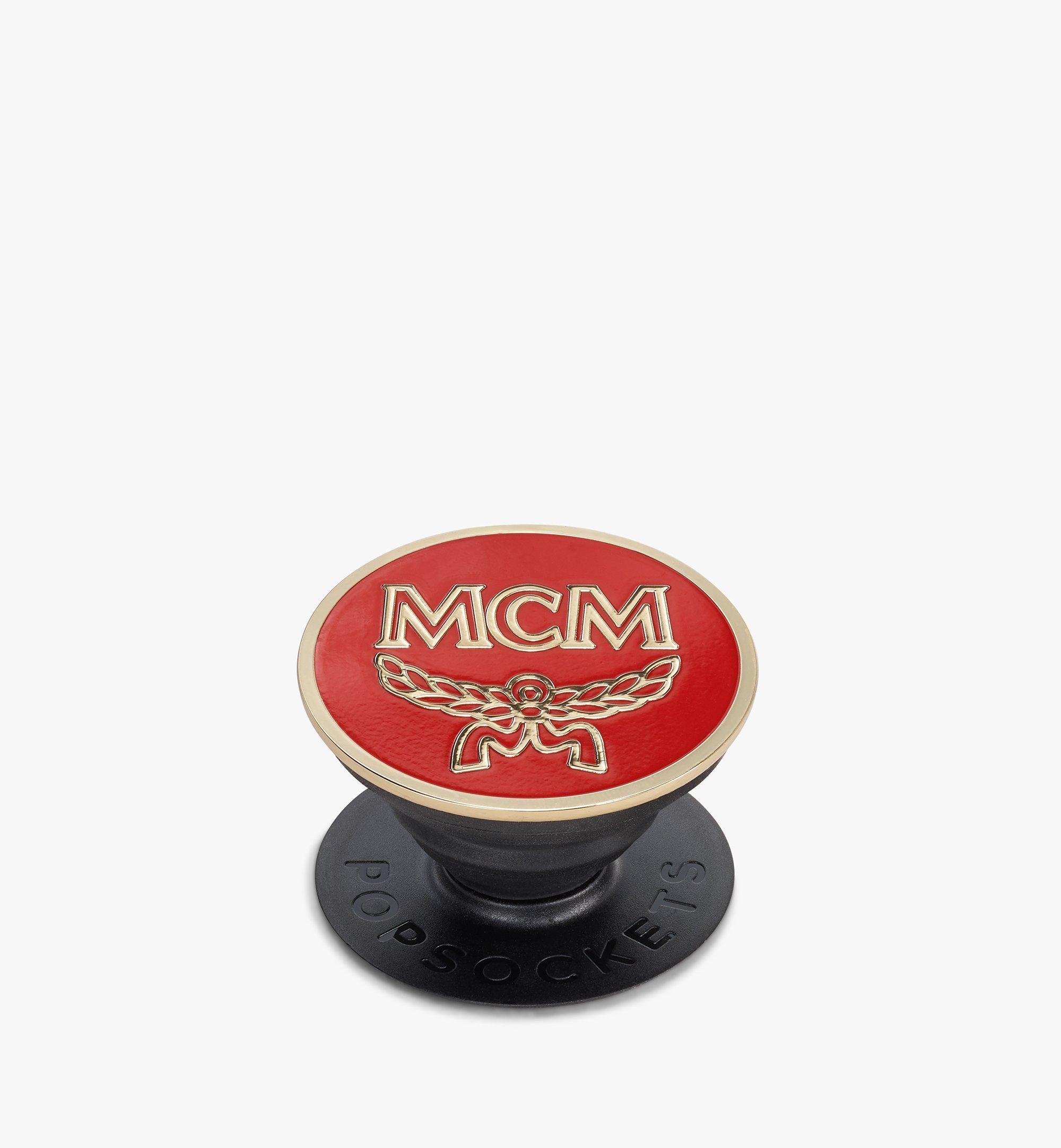 MCM MCM x PopSockets Red MXZASMM05R4001 Alternate View 1