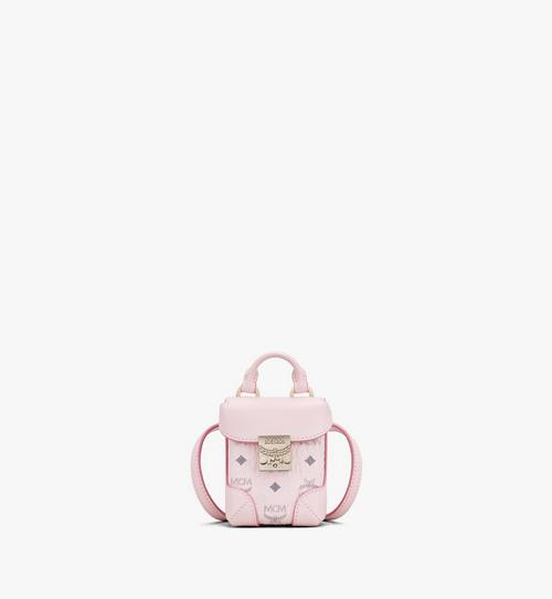 Soft Berlin Charm with Crossbody Strap in Visetos