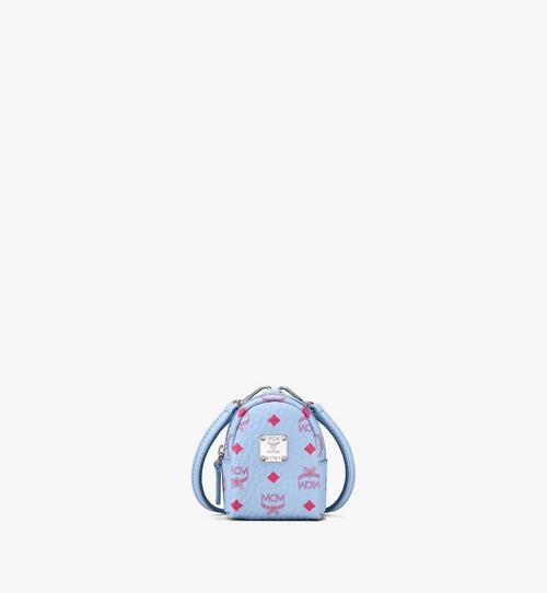 Backpack Charm with Crossbody Strap in Visetos