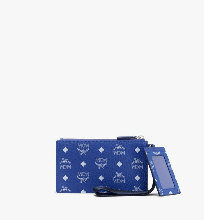MCM Multifunction Pouch in Visetos Alternate View 2