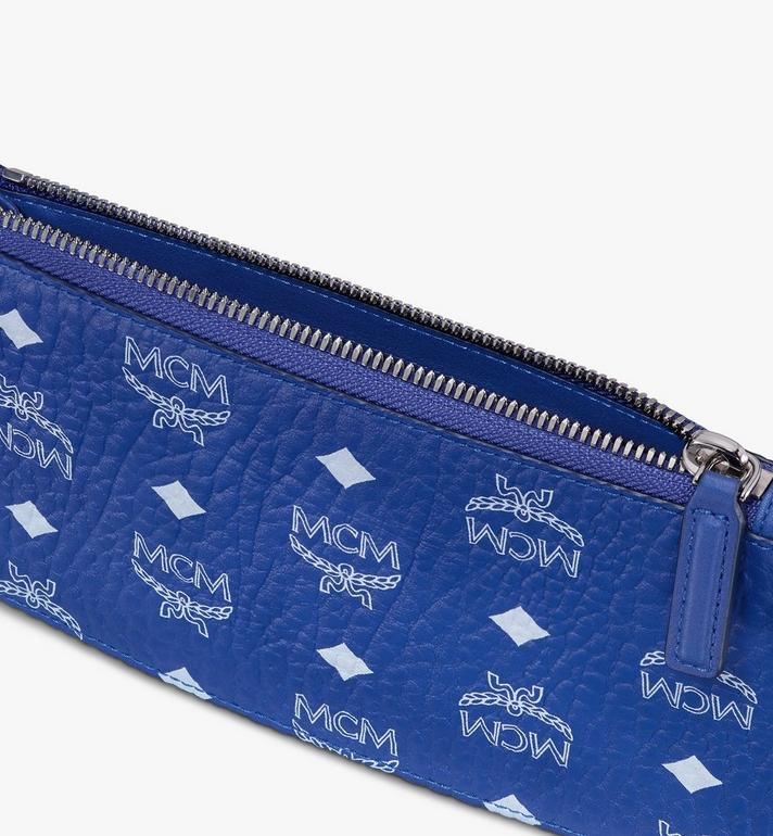 MCM Multifunction Pouch in Visetos Alternate View 3