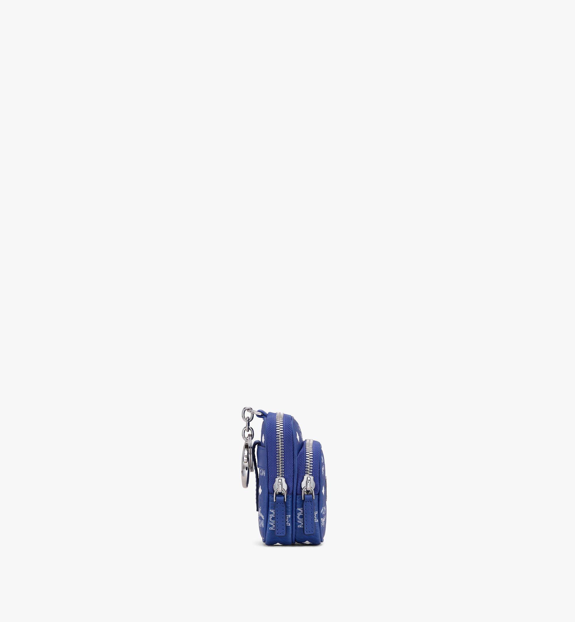 MCM Visetos 系列的斜揹包吊飾 Blue MXZASVI13H1001 更多視圖 1