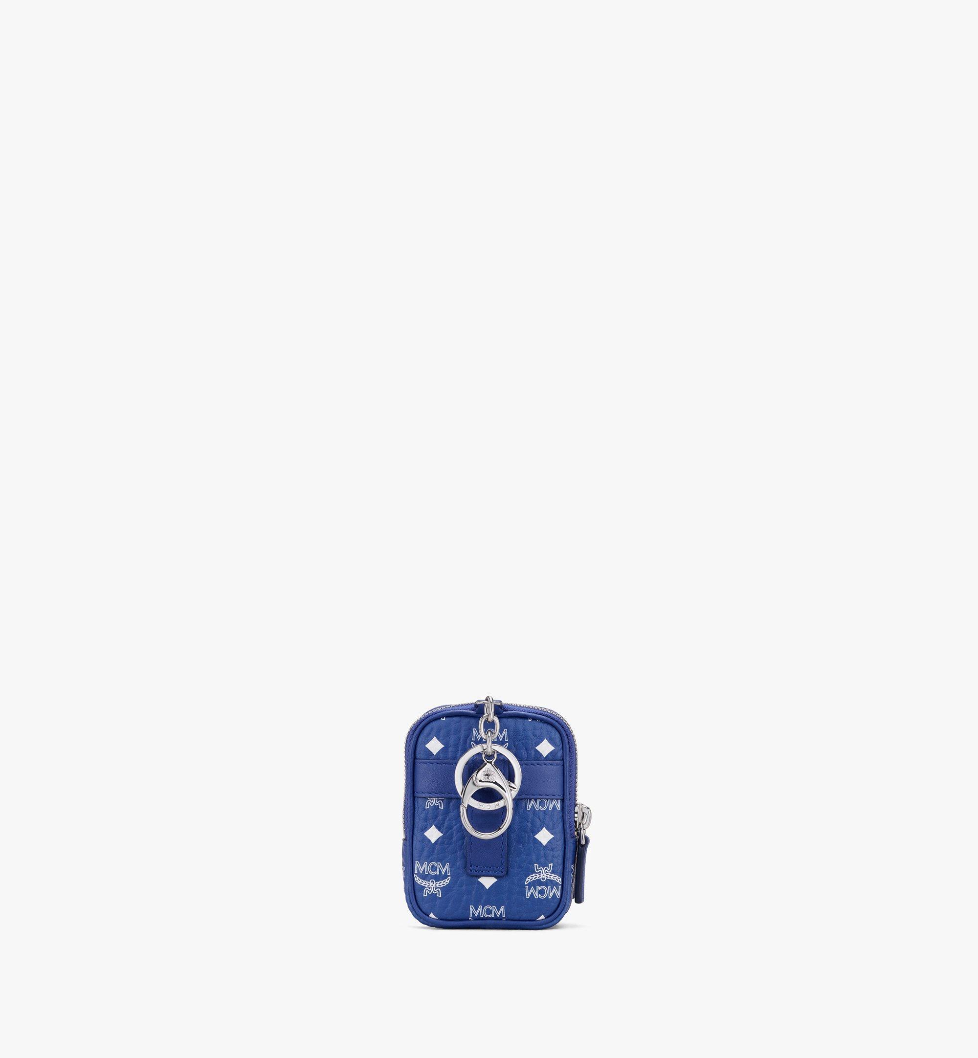 MCM Visetos 系列的斜揹包吊飾 Blue MXZASVI13H1001 更多視圖 2