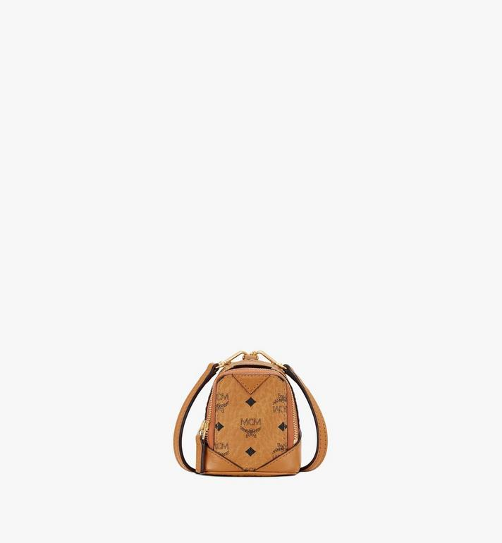 MCM Neo Duke Backpack Charm in Visetos Alternate View