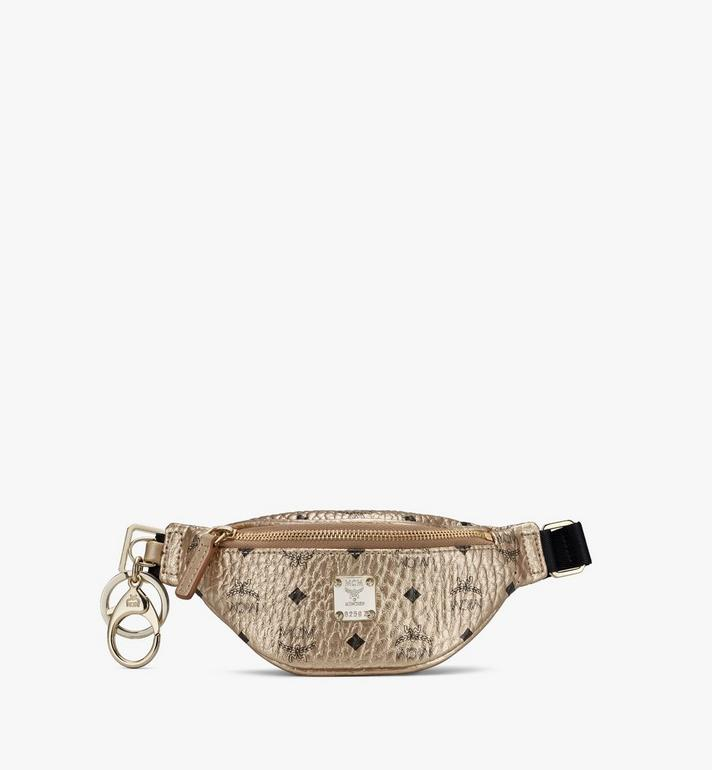 MCM Belt Bag Charm in Visetos Alternate View