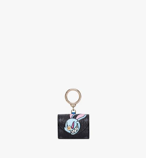 MCM x SAMBYPEN Rabbit Print Charm in Visetos