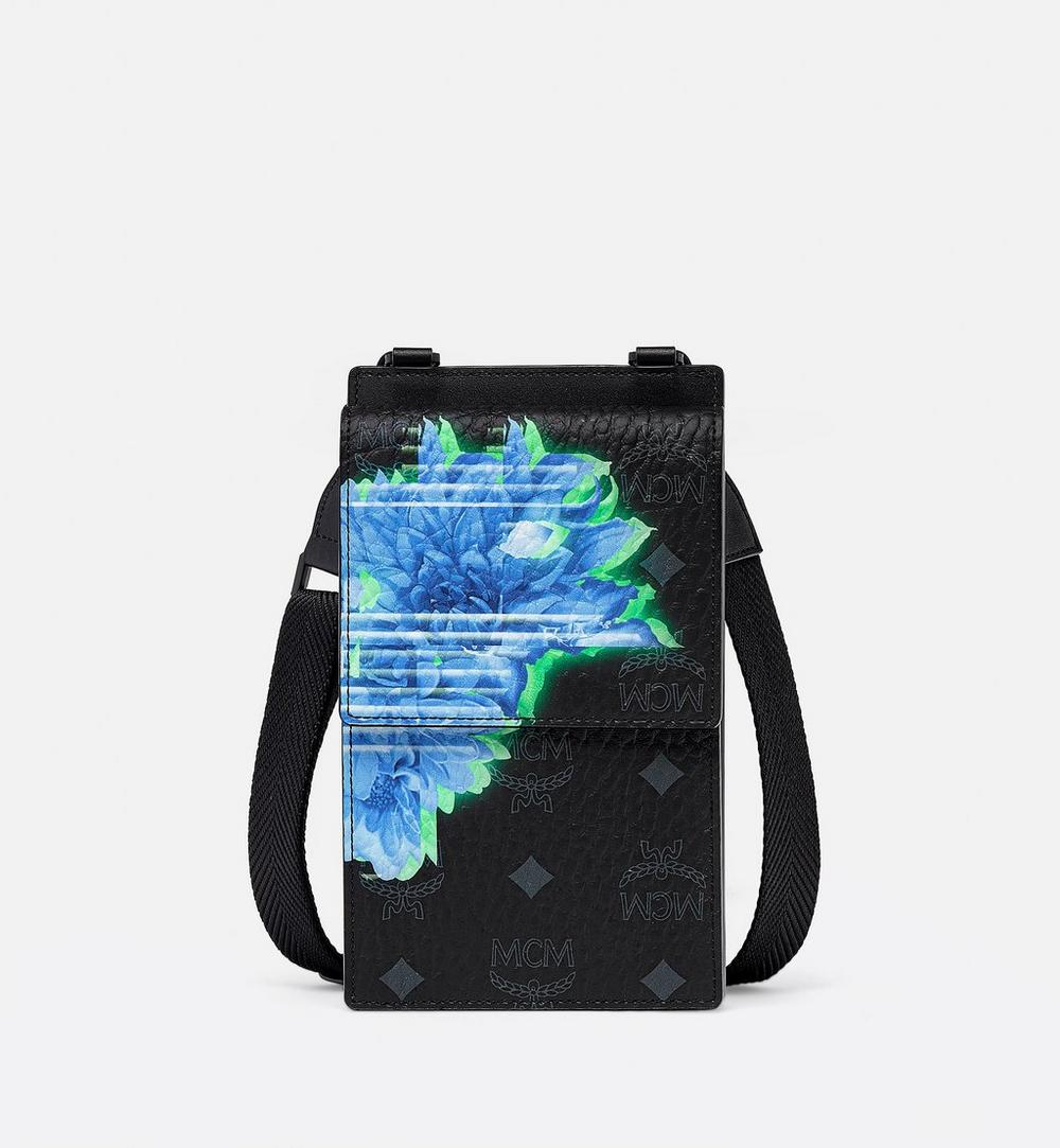 Crossbody Phone Case in Tech Flower Visetos 1